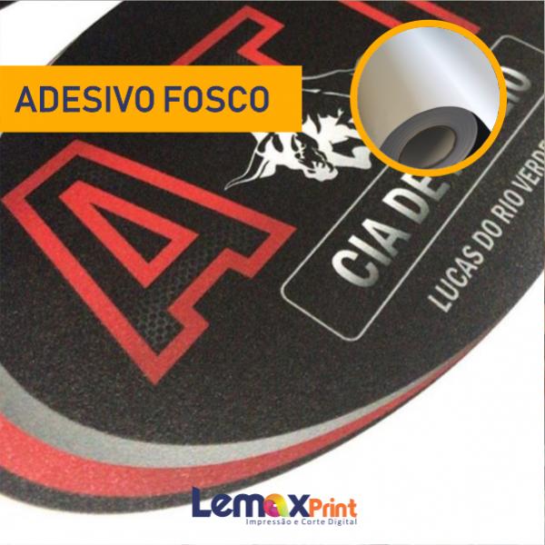 ADESIVO FOSCO COMUM