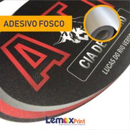 ADESIVO FOSCO COMUM ADESIVO FOSCO COMUM  4X0 CORES