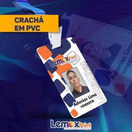 CRACHÁ PVC PVC 1MM 8,5X5,5CM VARIADAS  CANTOS ARREDONDADOS