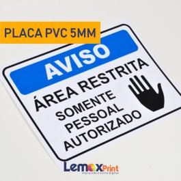PLACA PVC 5MM PVC 5MM